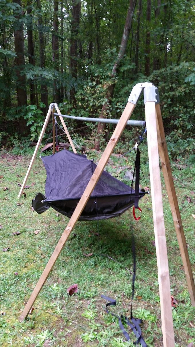 TATO Gear Folding Hammock Stand Kit by Bryan Oates —Kickstarter