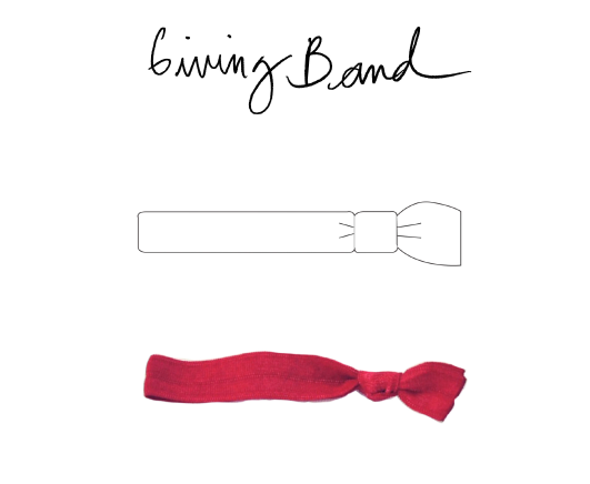 The Giving Band is a symbol of charity, camaraderie, and compassion.