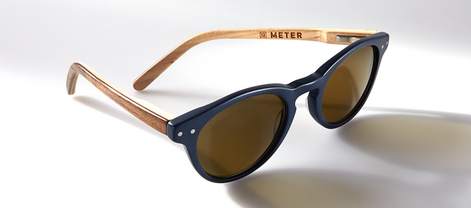 Acetate and wood sunglasses by DRIFT Eyewear