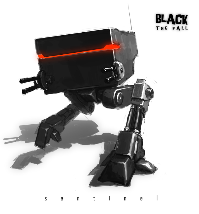 Image result for black the fall robot