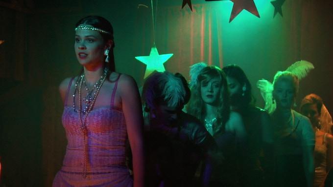 Karen Skloss (production still, SUNSHINE)