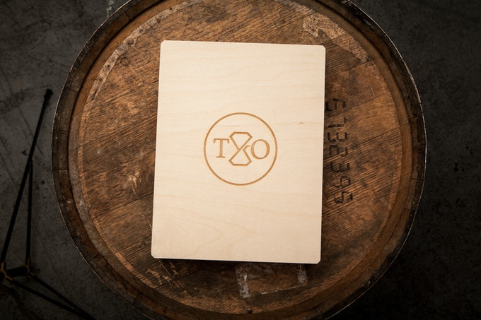 LIMITED EDITION WOOD BRAND BOX