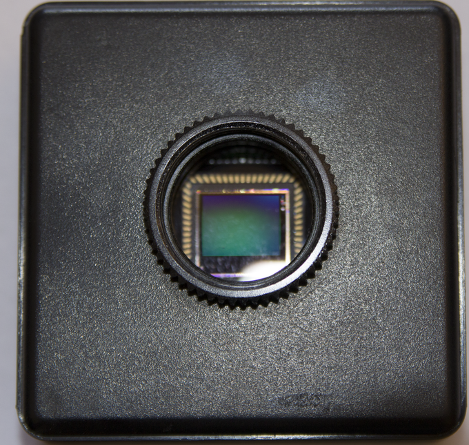 The standard C mount lens fitting allows a wide range of lenses to be used