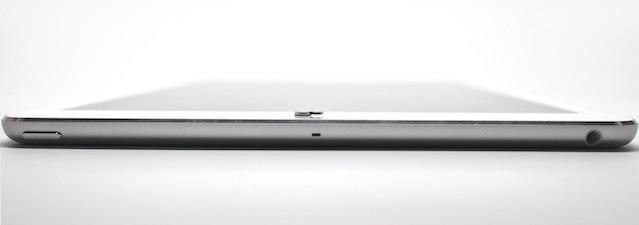 Nope floating above iPad Air Screen