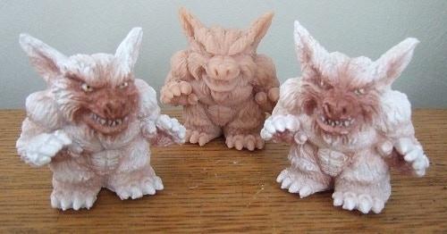 A Limited run of Legendary Beast Wolfman Chibi's have been handmade for Kaiju Gaiden by Alex Merdich