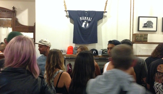 Launch party with Lakai Footwear at Port in Long Beach