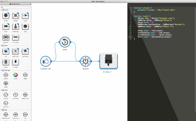 SAM: The Ultimate Internet Connected Electronics Kit by