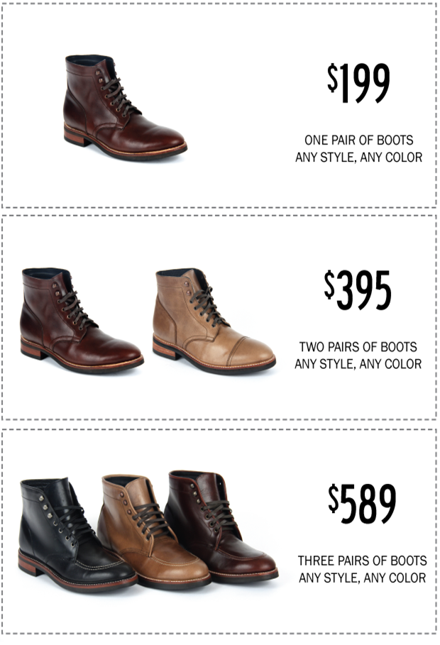 Thursday Boot Co. THURSDAY | EVERYDAY by Nolan Walsh and