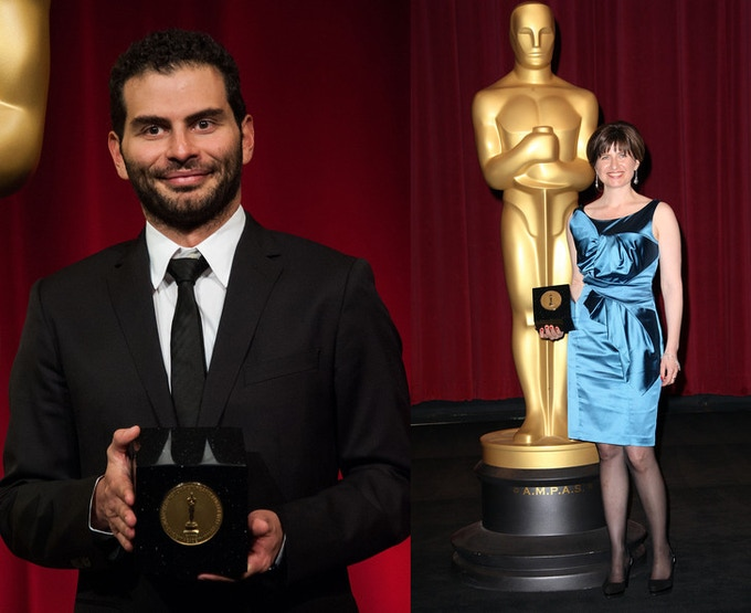 Both our editor, David, and director, Amanda, won Student Academy Award gold medals for directing, an honor given to only 4 students in the U.S. per year.