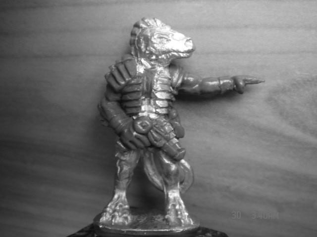 Senior commander character figure