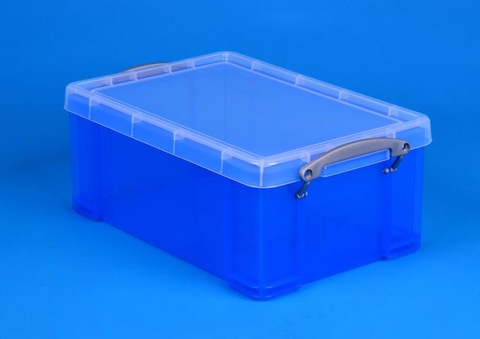 Small Transparent Blue box for 1 IPSim kit