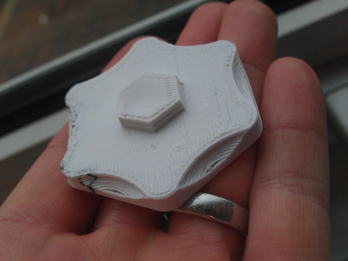 The first 3D printed open source commercialisation marker was a little too big!