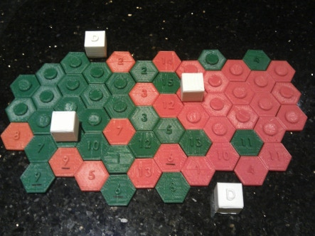 More advanced Tech markers and Defence Cubes!