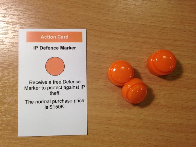 1 x IP Defence marker set