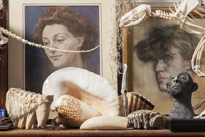Austin Osman Spare, Elephant's Teeth, Sea Shells & Wallaby's