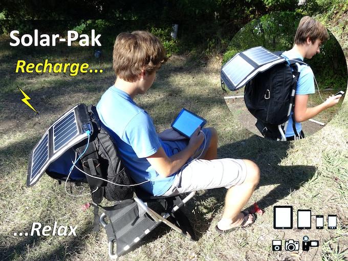 Chair-Pak goes high-tek with Solar-Pak