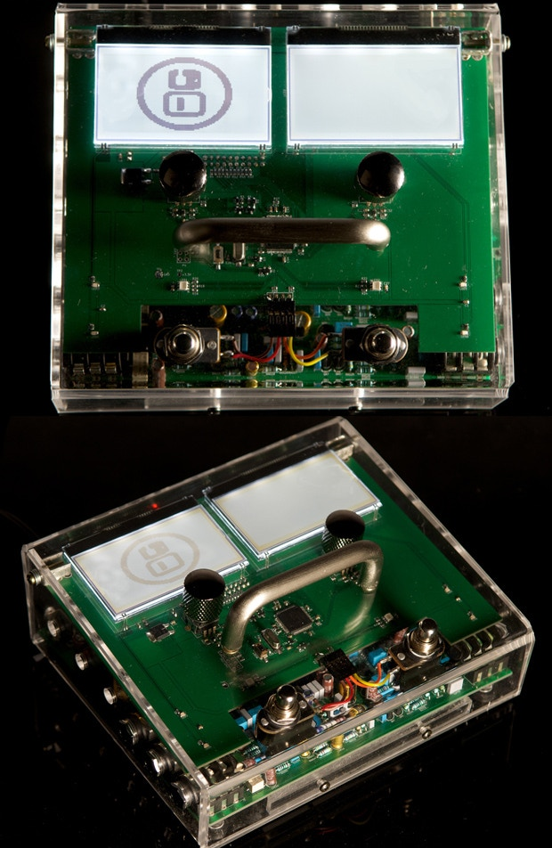 MOD Duo's transparent enclosure prototype.