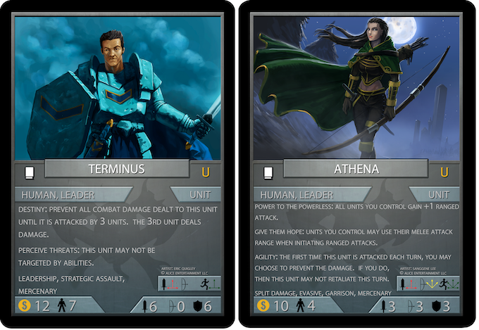 Cards still subject to changes.