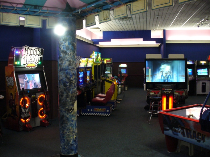 Another view of my Racine arcade.
