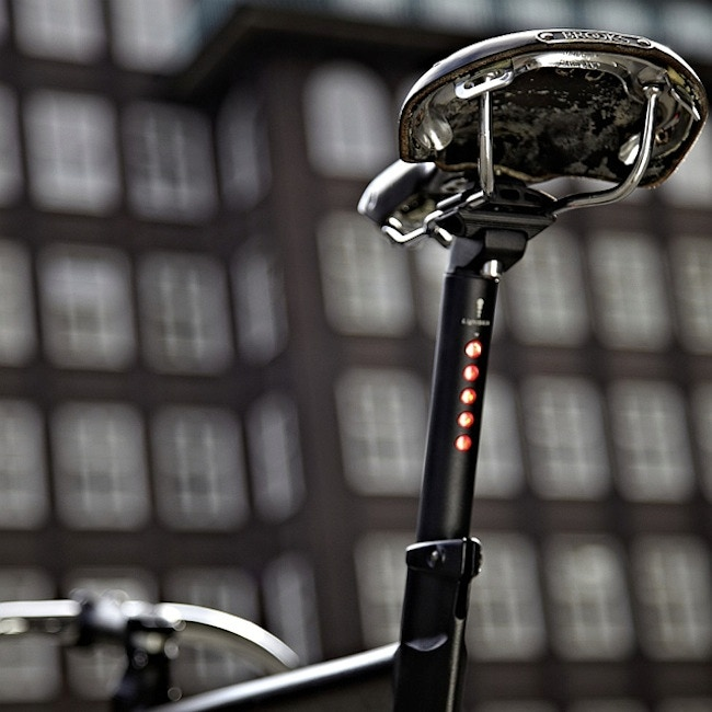 Integrated LED Seatpost