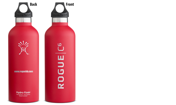 Rogue Insulated Water Bottle, 24 hours cold or 12 hours hot