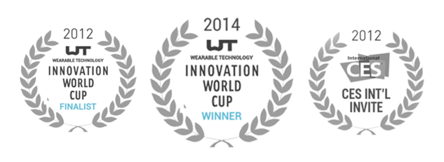 WINNER OF THE 2014 WEARABLE TECHNOLOGY WORLD CUP