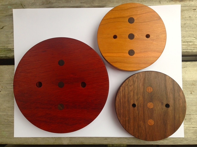 Rich Bloodwood, Cherry and Walnut