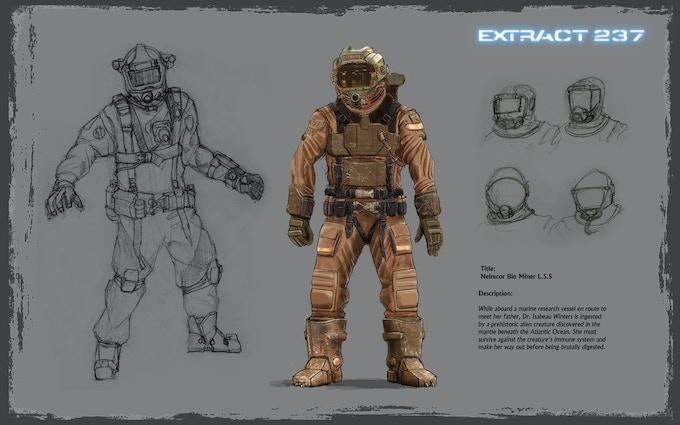 Nelmcor Bio Miner Character Concept