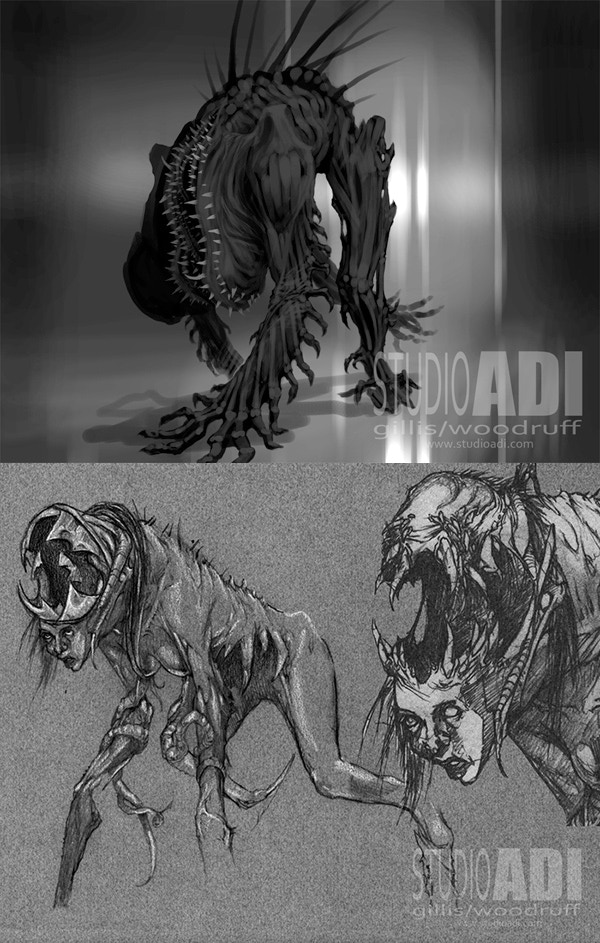 Studioadi Concept art not related to the film