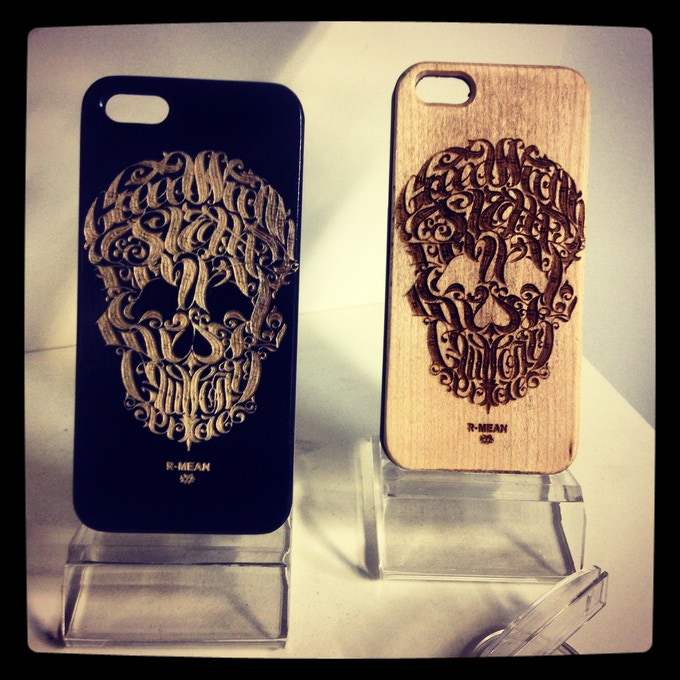NEW NEW NEW iPHONE case - Engraved Maple Wood