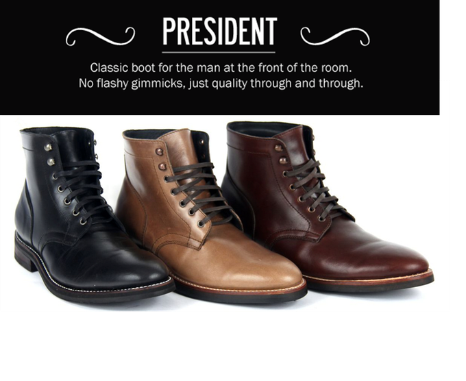 Available in Thursday Black, Chromexcel Natural and Thursday Brown