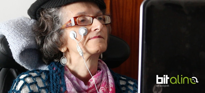 Living with ALS; use MuscleBIT to control a keyboard and mouse using residual muscle activity.