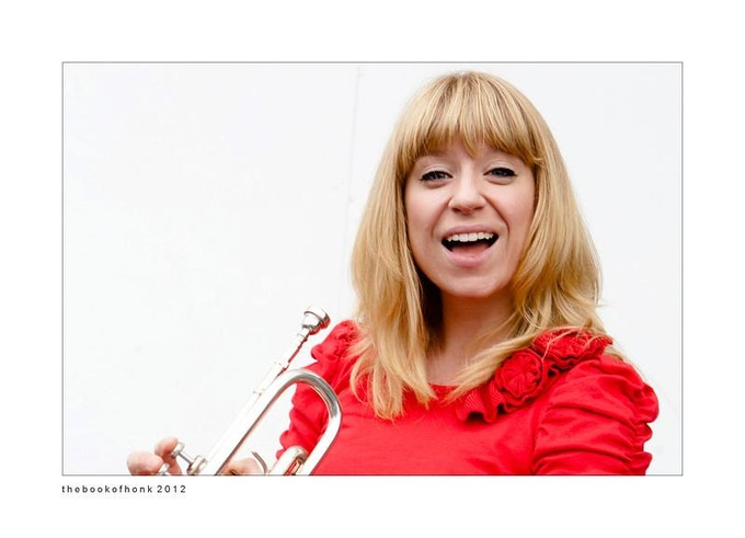 Jenny Harder will play her trumpet just for you!