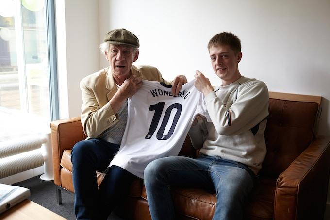 Rhys with Ian McKellen <3