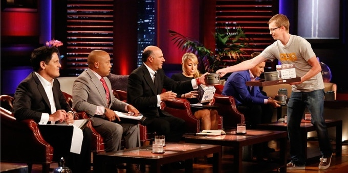 We landed a deal with Mark Cuban on ABC's Shark Tank (Photo Courtesy of ABC Network).