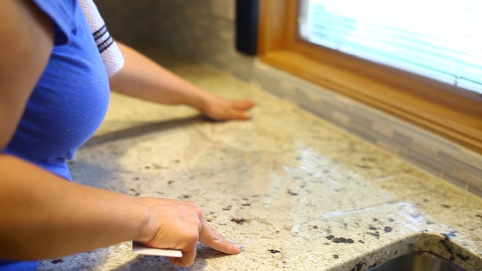 Counter Top Ease of installation