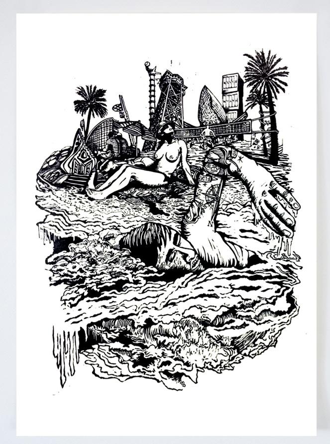August - Beach Casual Nudity