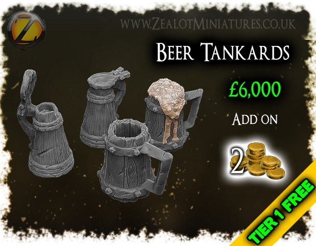 Tier 1 Stretch goal, free beer!