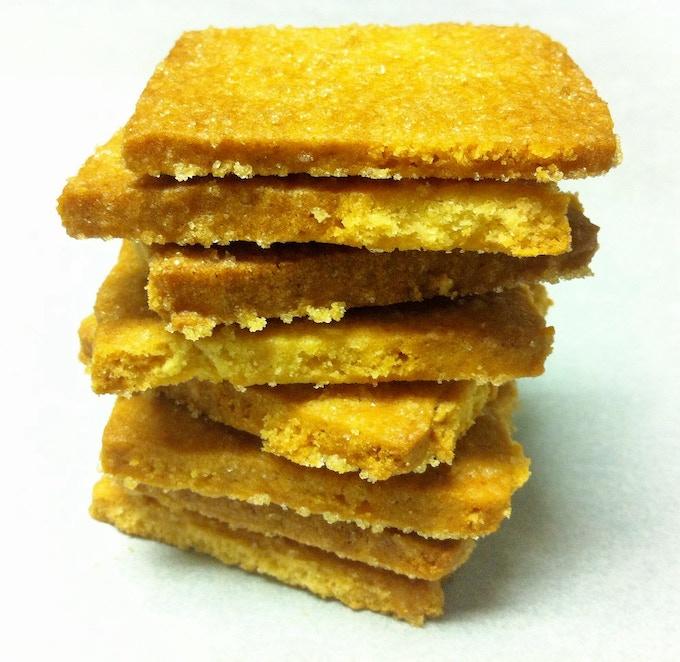 Sourdough Shortbread Cookies