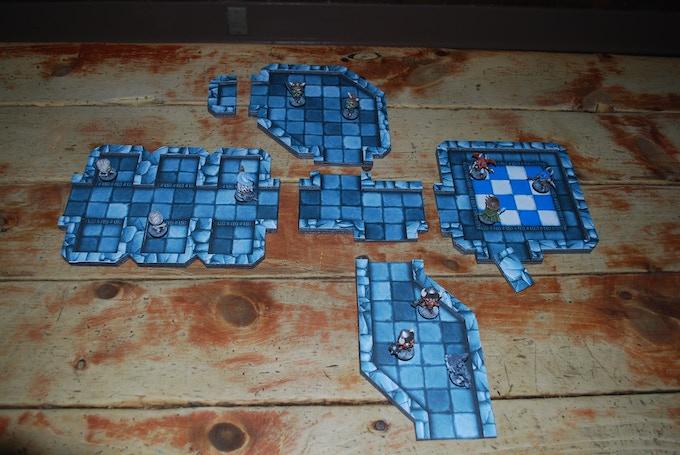 Exploded Tiles