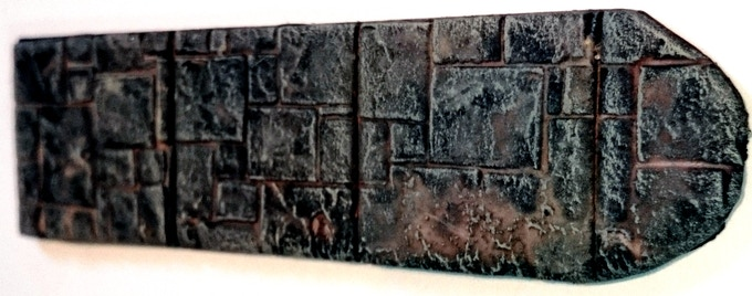 BASIUS: SANCTUARY PAD 1 inch Dungeon Tiles - Painted by Elstonation on Youtube