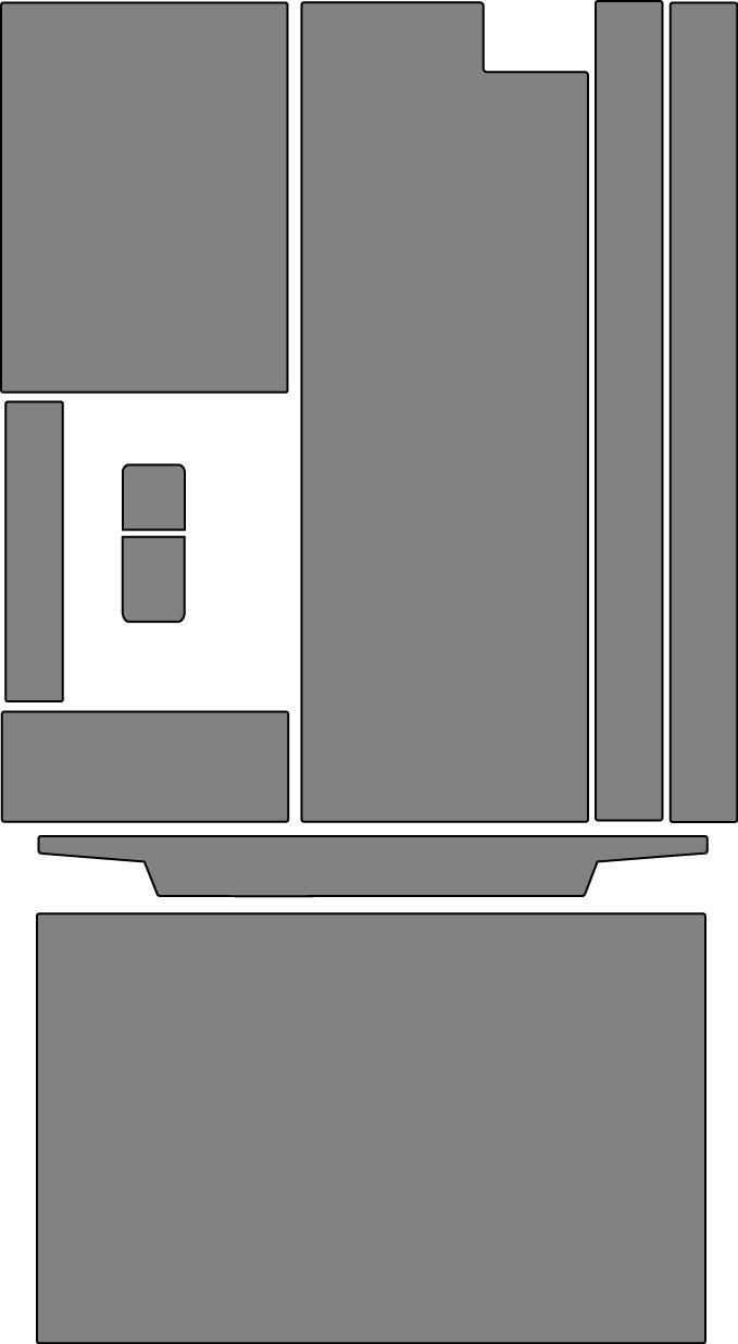 Custom Multiple Door Refrigerator Defender