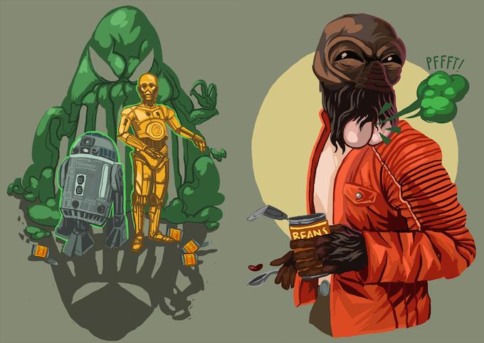 Star Wars Farts: ReInventing Star Wars    through Farts by