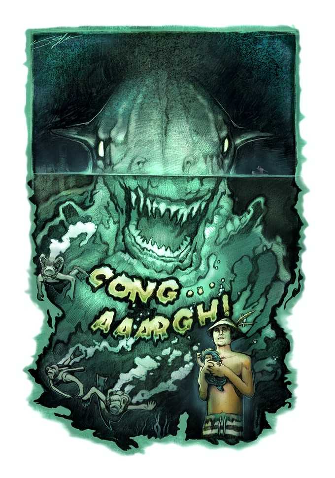 """Old School"" CongAAARGH! Limited Edition Movie Poster."