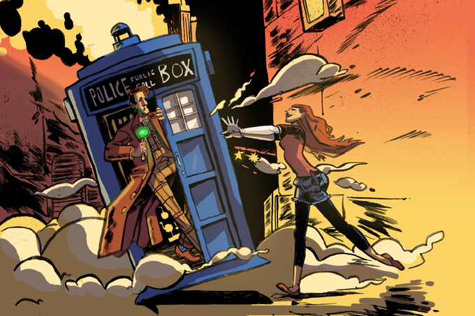 Wendy takes on Doctor Who!