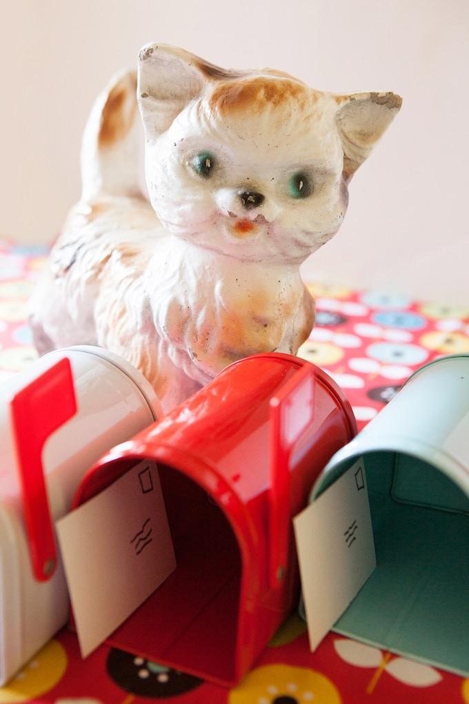 Kitschy Cat, 20 lovable pounds of concrete