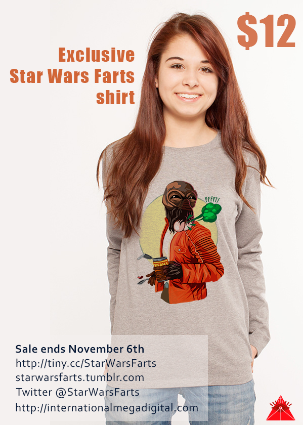 """All those misogynists can eff off, would a """"fake geek girl"""" rock a farting Ponda Baba shirt?"""