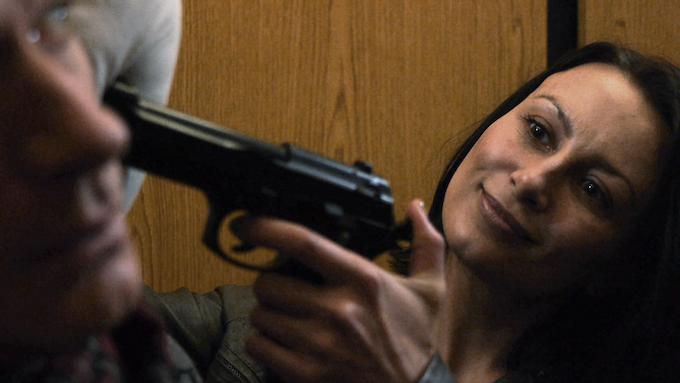 Anya (Kirsten Foe) in the Clone Assassin episode
