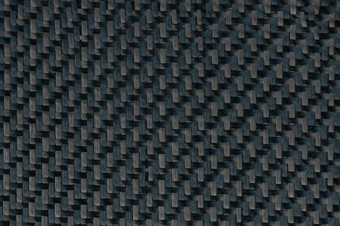 Black Kevlar Carbon Hybrid fabric