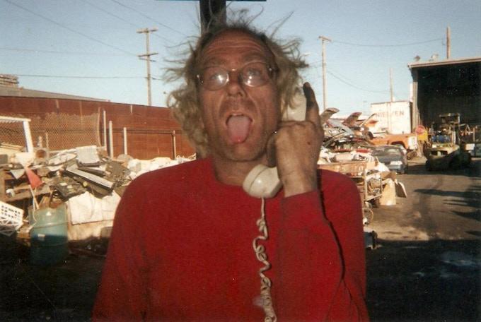 Bill in his Blondie days